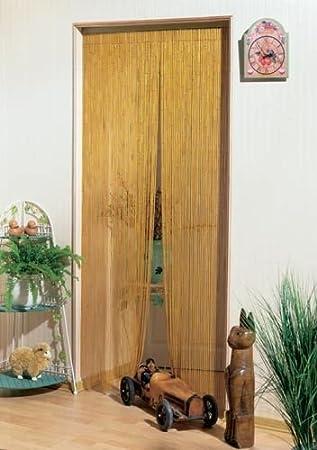 Vorhang Bambusvorhang Turvorhang Bambus 90 X 200 Cm Amazon De
