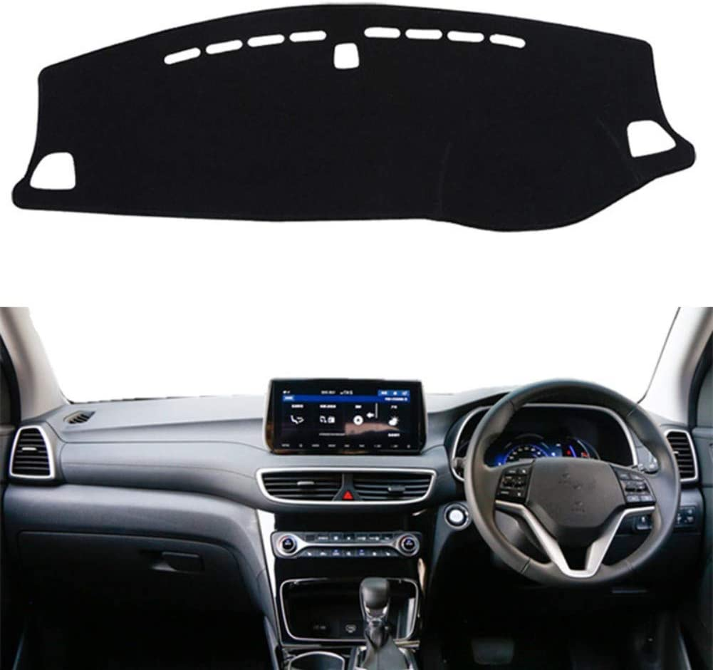 FLJKCT Car Dashboard Mat Instrument Pad Styling Accessories,Fit For Hyundai Tucson 2019