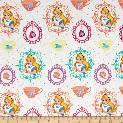 Alice in Wonderland  Cheshire Cat Fat Quarters from Craft Cotton