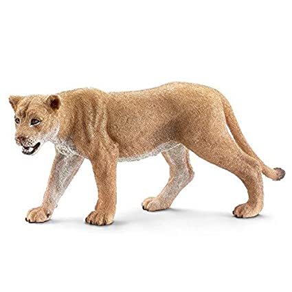 amazon com schleich lioness toy figure schleich toys games