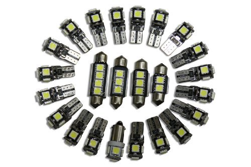 Contenu De La Livraison: -2x /Éclairage De La Partie Avant -1x /Éclairage De Lecture -1x /Éclairage De Bo/îte /à Gants -1x /Éclairage Int Mercedes Benz C-Classe W202 6 Canbus LED`s /Éclairage Int/érieur Blanc