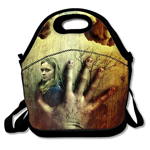 Dark Gothic Lost Love Emo Sadness Lunch Bag Insulated Tote Handbag Lunchbox Shoulder Strap Women Teens Girls Kids Adults