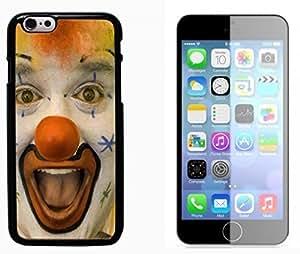 Clown Evil Joker Pattern Hard Plastic and Aluminum Back Case FOR Apple iPhone 6 6G 4.7
