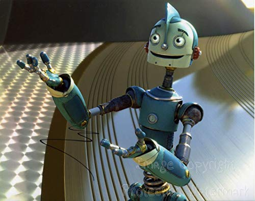 Ewan McGregor Robots Rodney Copperbottom Signed Autographed 8x10