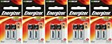 5 X 2 Energizer A23 21/23 23A MN21 GP23 12v Alkaline Garage Door Opener 10 Batteries