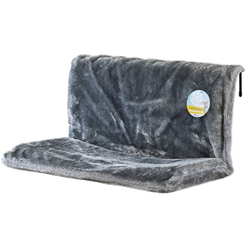 Me & My Pets Plush Grey Radiator Bed