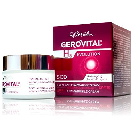 Amazon.com: gerovital H3 Evolution, anti-arrugas Crema muy ...