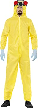 Walter Breaking Bad Traje Blanco Jugadores Jumpsuit Lab Mono ...