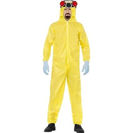 Walter Breaking Bad traje blanco jugadores jumpsuit Lab Mono ...