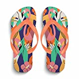 Chad Hope Men's Easy Thong Flip Flop Sandal|Men's Flip Flops Beach Slippers