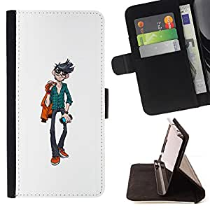 Jordan Colourful Shop - Cool Guy For Sony Xperia Z3 D6603 - Leather Case Absorci???¡¯???€????€???????????&AEli