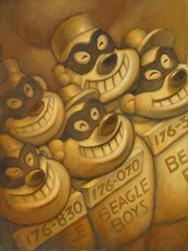 Imagekind Wall Art Print Entitled Beagle Boys Jere Smith | 24 x 32