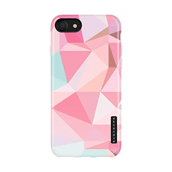 iPhone 8 & iPhone 7 Case Geometric, Akna Sili-Tastic Series High Impact  Silicon Cover with Full HD+ Graphics for iPhone 8 & iPhone 7 (Graphic