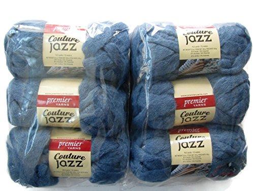 - Couture Jazz Yarn, 6-Pack (Denim)