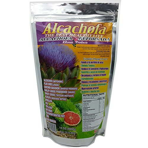 Artichoke Powder (Alcachofa Reforsada Powder the Best Healthy Life 14 Oz Artichoke & Much More Ingredients)