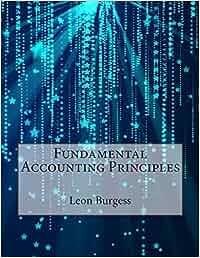 Fundamental accounting principles author Leon D Burgess pdf free