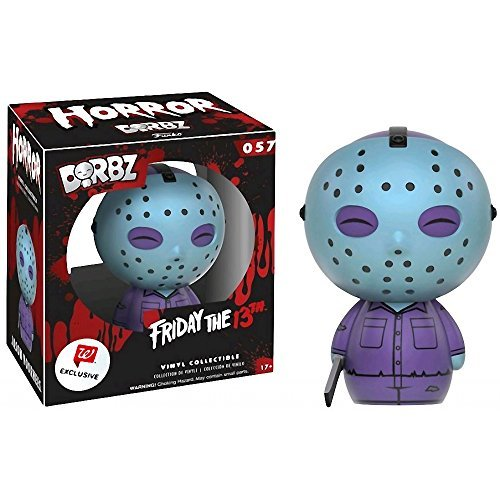 Funko Jason Voorhees (Walgreens Exclusive) Dorbz x Friday The 13th Vinyl Figure + 1 Free Classic Horror & Sci-fi Movies Trading Card Bundle -
