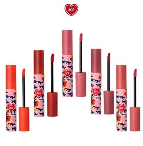 [3ce]メゾンキツネベルベットリップティント5本セット 海外直商品 Maison Kitsune Velvet Lip Tint5colors set [並行輸入品] B07BK3YTGV