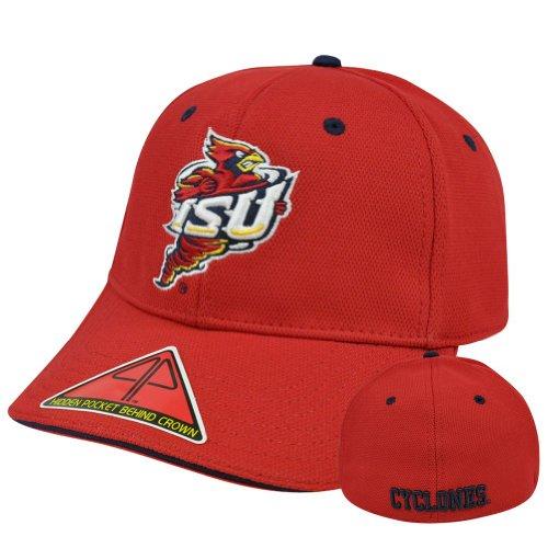 NCAA Iowa State Cyclones Pro Pocket Heater Flex Fit Curved Bill L/XL Hat Cap