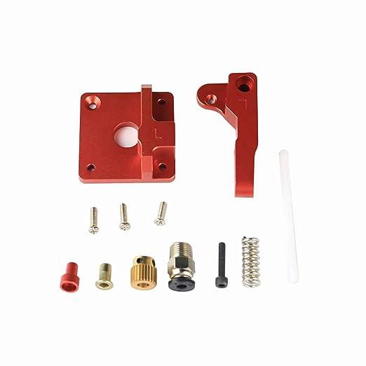 Lorsoul Partes de la Impresora 3D MK8 Extrusora Kit de aleación de ...