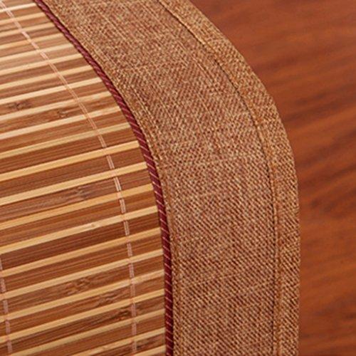 Ren Chang Jia Shi Pin Firm Bamboo mat bamboo cushion mat folding mat sofa cushion summer mat family dormitory mat tatami hotel mat soft comfortable mat mattress yoga mat by Ren Chang Jia Shi Pin Firm (Image #5)