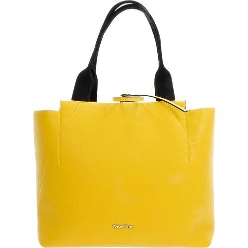 Shoppers y bolsos de hombro para mujer, color Amarillo ...