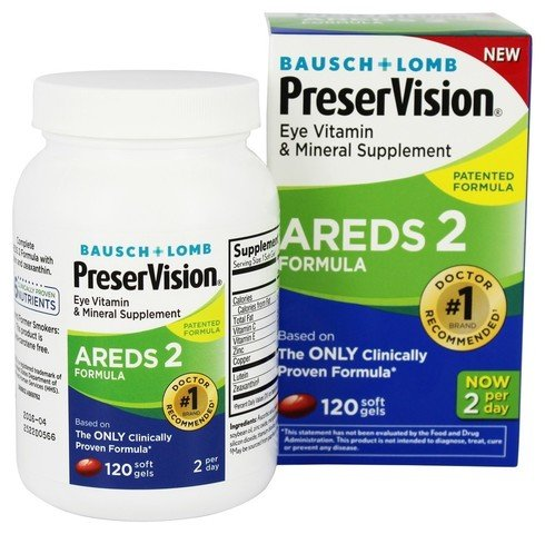 PreserVision AREDS 2 Vitamin & Mineral Supplement ( VarietyPackage Pack of 360 Count Soft Gels )