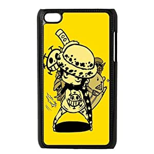 Cartoon Monkey D. Luffy Plastic Cover Protective Case Fits ipod touch 4 4th 4g - One Piece