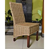 International Caravan SG-3301-1CH-IC Furniture Piece Bayu Banana and Seagrass Dining Chair