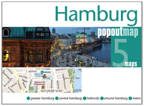 Hamburg PopOut Map (Footprint PopOut Maps)