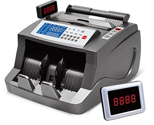 Bill Money Counter Worldwide Currency Cash Counting Machine UV & MG Counterfeit (Bill Money Counter)