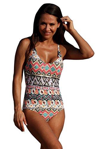 UjENA Gypsy Dip One-Piece Swimwear - Size: ()