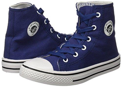 Kripton West Haute Sneaker-Bleu Marine Taille 34