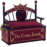 Wildkin Prince Toy Box Bench