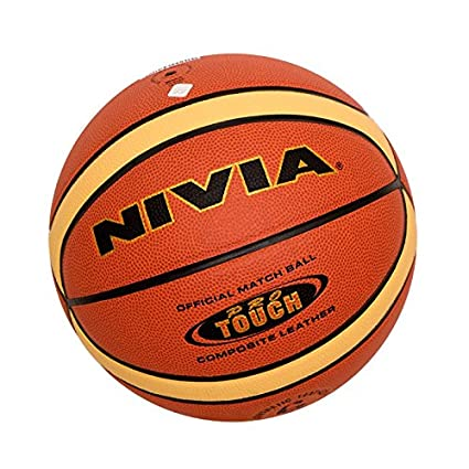 Buy Nivia Top Grip Rubber Basketball Size 7 Color Multicolour Ideal For Training Match Online At Low Prices In India Amazon In