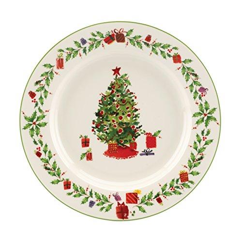 Lenox Holiday Inspirations Christmas Tree Salad Plate