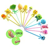 Sinofun 12PCS Random Cute Pen Squishy Set, Scented Topper Squishies, Slow Rising Party Favors/School...
