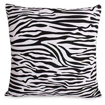 Black And White Zebra Print Cushions