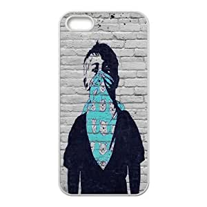 Personalised Phone case banksy For iPhone 5, 5S S1T3196