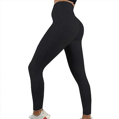10e6daba46 JGS1996 High Waist Yoga Pants, Tummy Control, Workout Pants for Women  Stretch Yoga Leggings