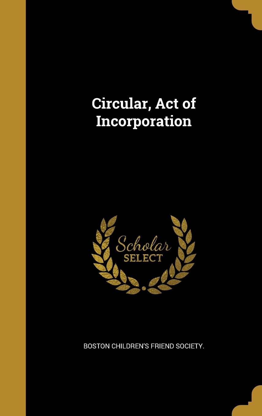 Circular, Act of Incorporation PDF