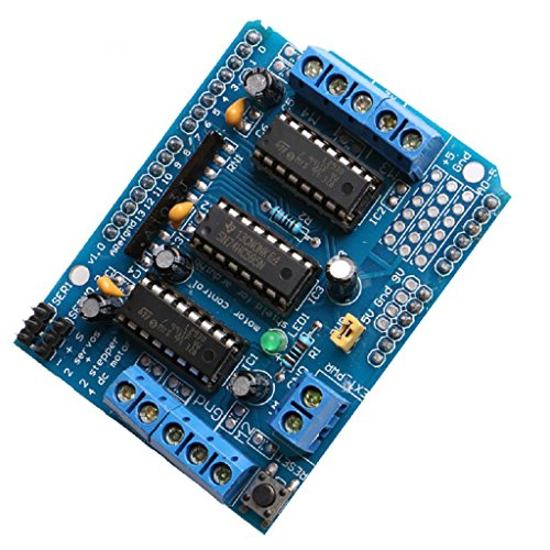 Price comparison product image Pink-day L293D Motor Drive Plate Control Shield Drive Expansion Board Module For Arduino