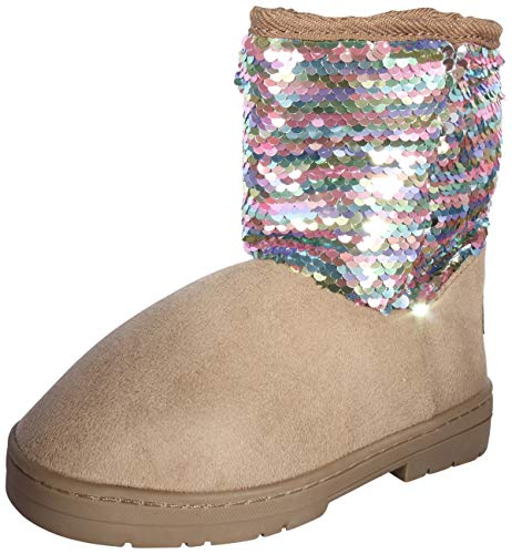 Sequin Boots Girls - bebe Girls Winter Boots with Side