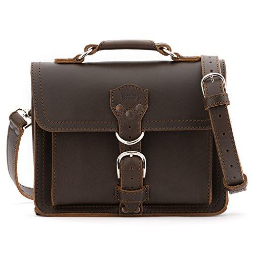Saddleback Leather Tablet Bag in Dark Coffee Brown (Saddleback Leather Bag)