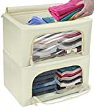 Sorbus Storage Bins Boxes, Foldable Stackable Container Organizer...
