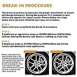 Max Brakes Front & Rear Performance Brake Kit