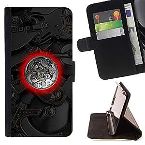For MOTOROLA MOTO X PLAY XT1562 Case , Ver Mecánica- la tarjeta de Crédito Slots PU Funda de cuero Monedero caso cubierta de piel