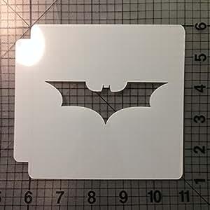 Bat Stencil 107 (4 Inches)