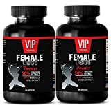 VIP VITAMINS Women sex supplement - FEMALE LIBIDO BOOSTER PILLS - Aphrodisiac pills - 2 Bottles 120 Capsules