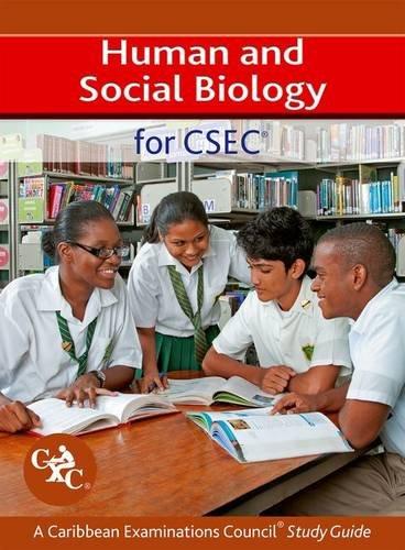 Human and Social Biology for CSEC A Caribbean Examinations Council Study Guide pdf epub